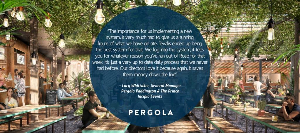 Pergola Paddington Quote